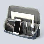 画像5: ユートリム スマ・スタ ワイド A4 立つバッグインバッグ (5)