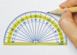 画像3: 楽しく学習 分度器 9cm (3)