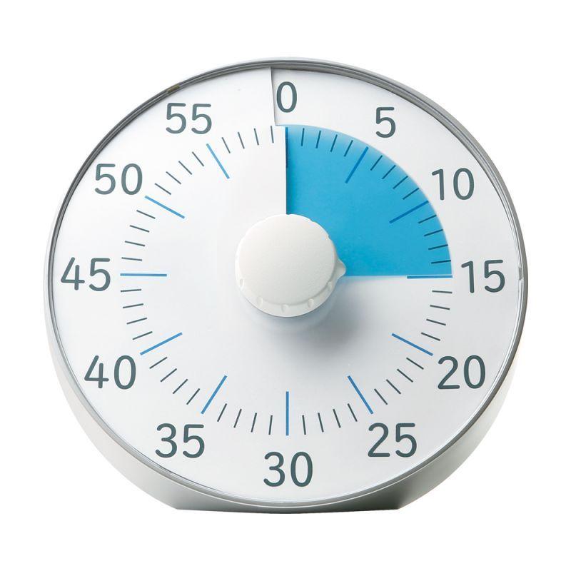 画像1: トキ・サポ 時っ感タイマー 19cm 色で時間の経過を実感 (1)
