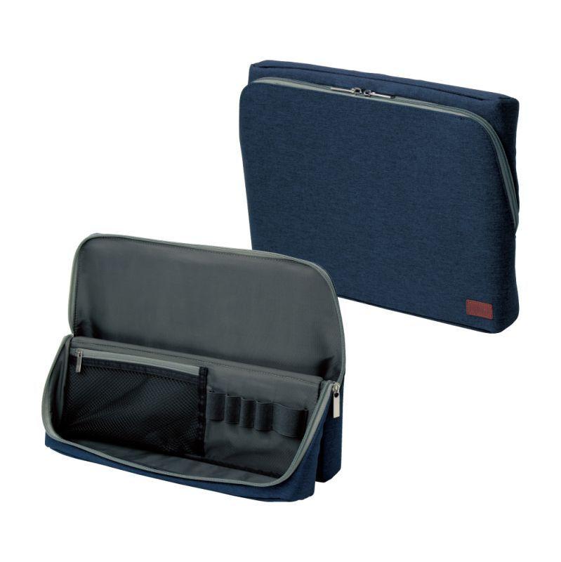 画像1: ユートリム スマ・スタ ワイド A4 立つバッグインバッグ (1)