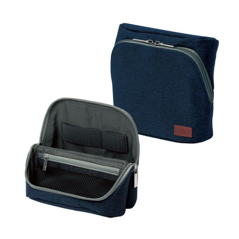 画像1: ユートリム スマ・スタ ワイド モバイル 立つバッグインバッグ (1)
