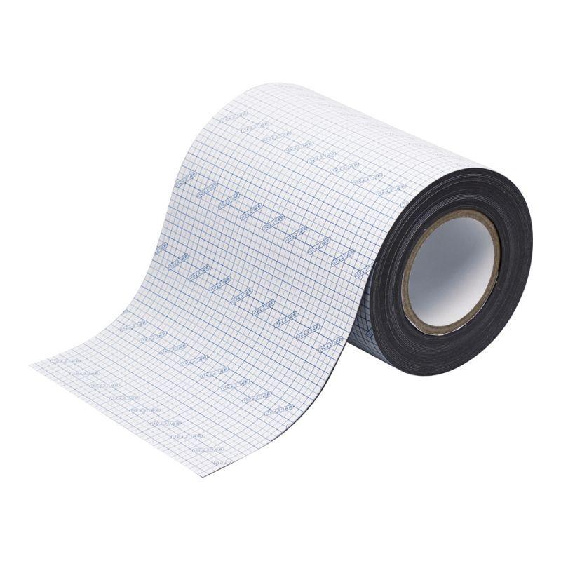 画像1: マグネット粘着ロール 200mm幅 カッティングライン付 (1)
