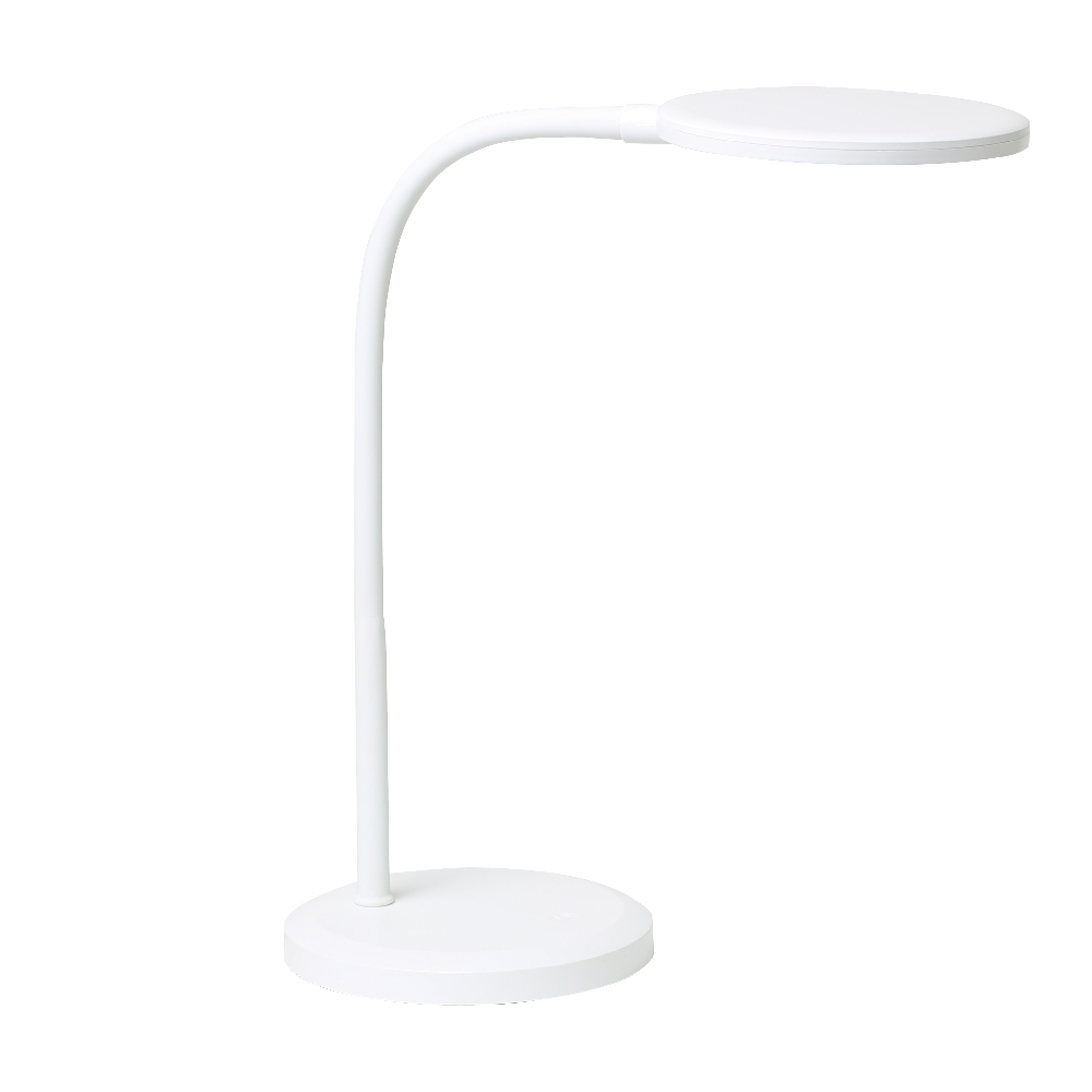 画像1: リビガク LEDデスクライト 調光機能付 目にやさしい面発光 (1)