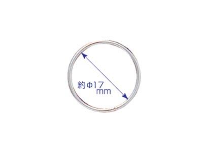 画像1: 二重リング 直径17mm 25個入 (1)