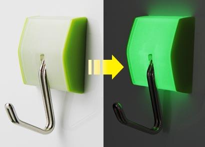 画像1: 光るマグフック 2.5kg 蓄光タイプ (1)